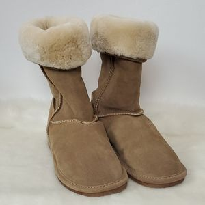 Bjorndal genuine leather winter boots size 8 M